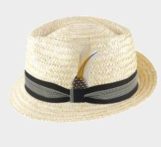 Classic Trilby Paille