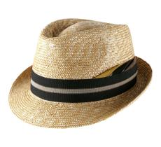 Marky Classic Trilby Paille